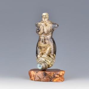 Image of XXL. Chateau Goddess - Flamework Glass Sculpture Bead