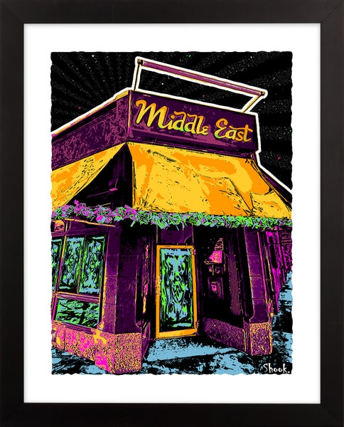 "Image of The Middle East Cambridge Giclée Art Print - 11"" x 14"""