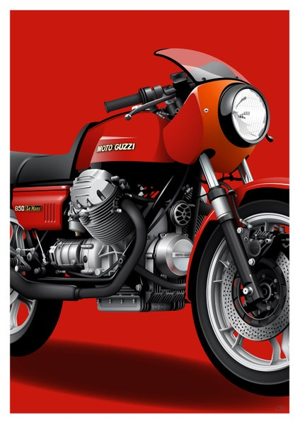 Image of Moto Guzzi LeMans MK1