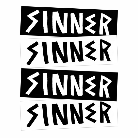 Image of Stickers: Sinner