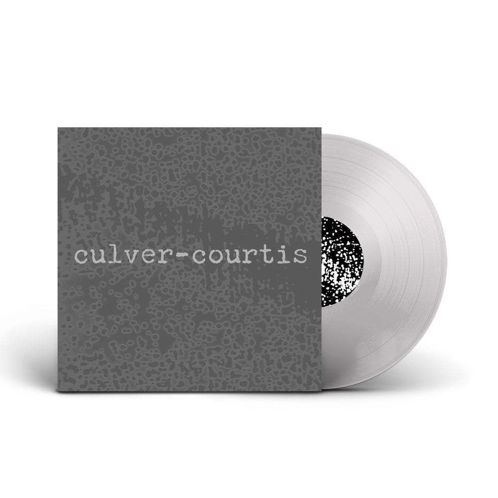 CULVER-COURTIS 'Culver-Courtis' Clear Vinyl LP
