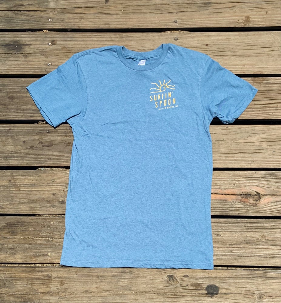 Image of NEW // Spoon Sun Tee - Blue