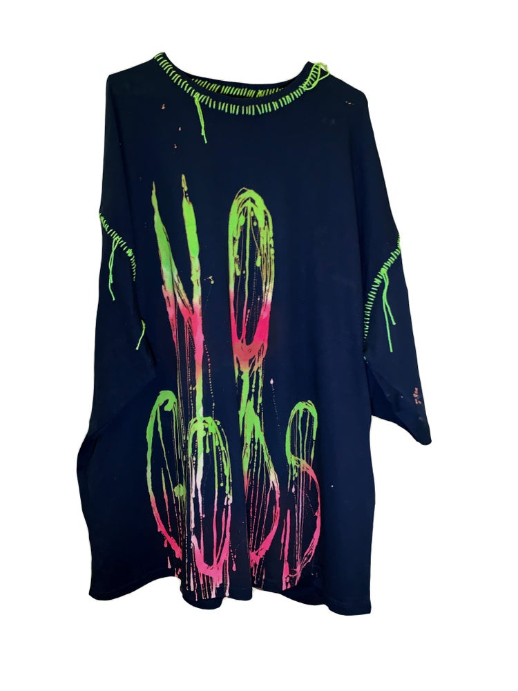 Image of NO GODS OVERSIZED T DRESS