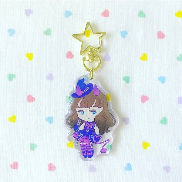 Image of Aroma, Mikan, Garuru Keychain