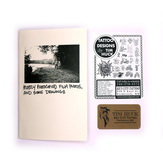 Image of MOSTLY PHOTOCOPIED FILM PHOTOS AND SOME DRAWINGS - TIM HUCK