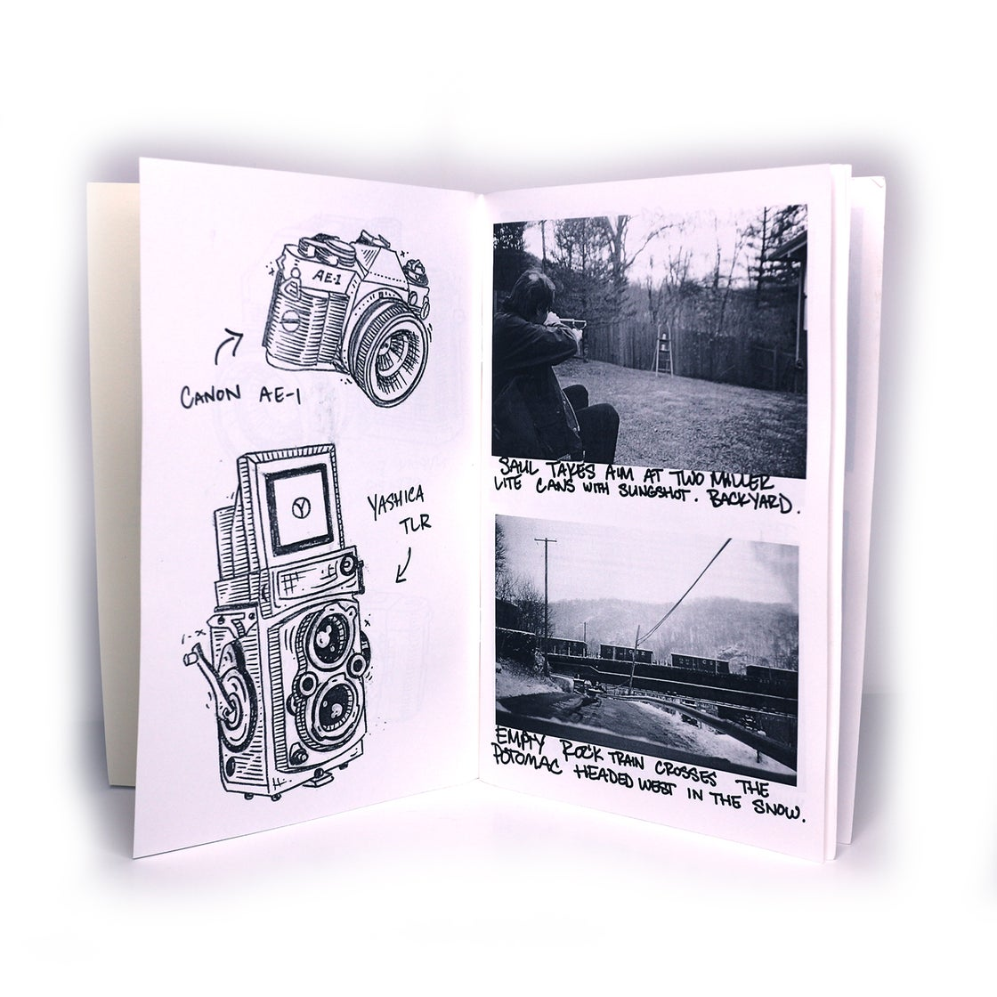 Image of MOSTLY PHOTOCOPIED FILM PHOTOS AND SOME DRAWINGS - TIM HUCK  ** LAST COPY **