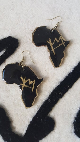Image of Black/gold Africa