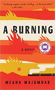 Image of Megha Majumdar -- <em>A Burning</em> -- Inky Phoenix Book Club - SIGNED