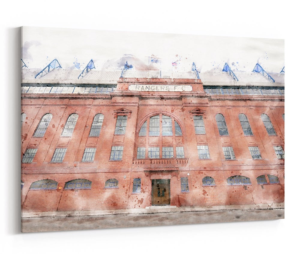 Image of Main Stand - Water Colour - NEW for 2020!