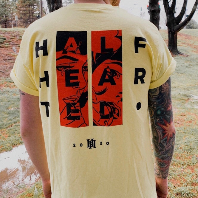 Image of Half Hearted - LIAR. T-Shirt