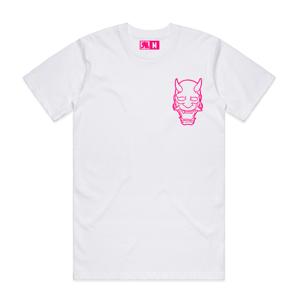 Image of Pink Oni Mask Tee