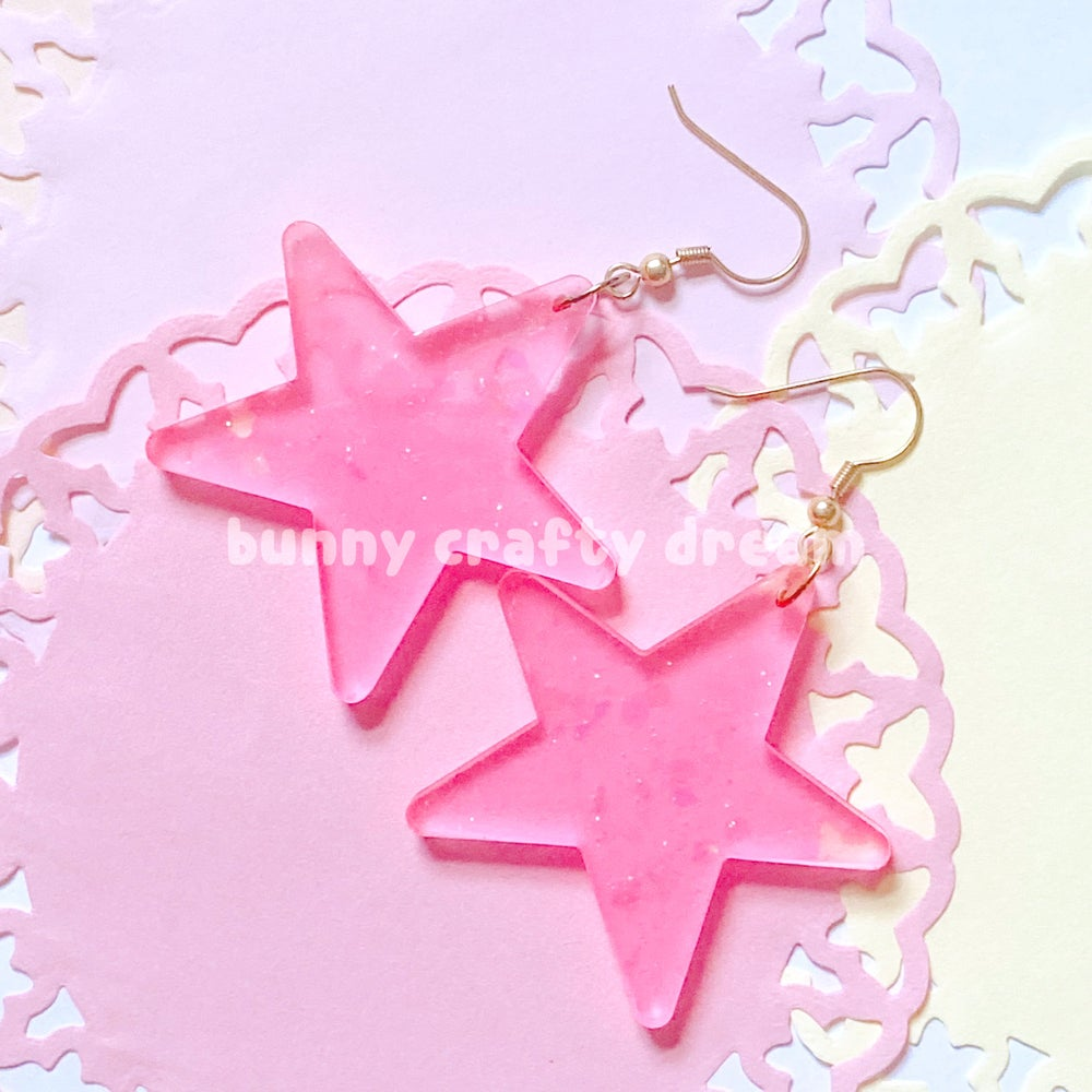 Image of CUSTOM Star Earrings