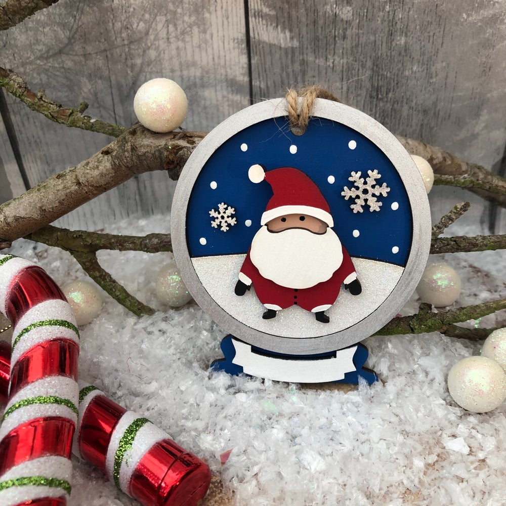 Image of Santa Snowglobe Decoration