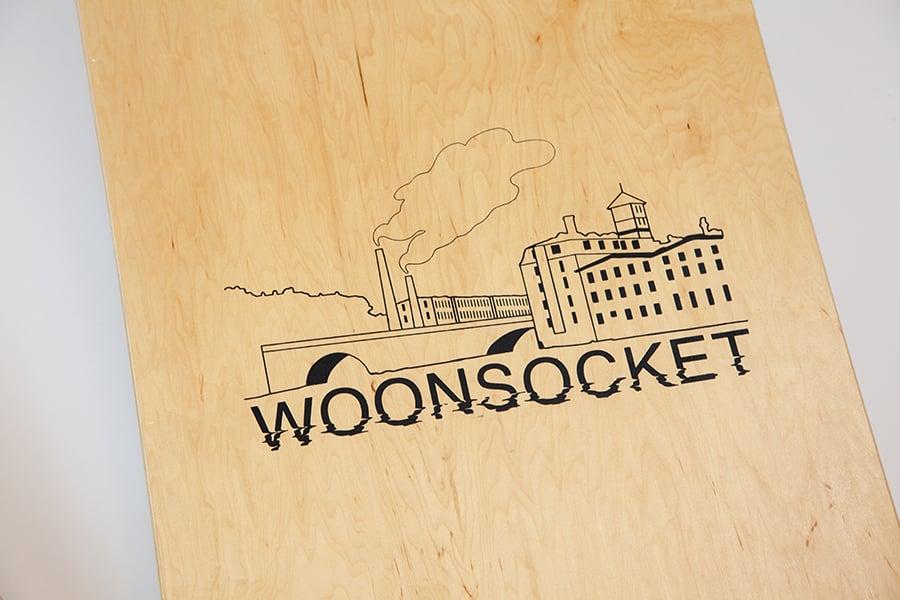Image of RI/Woonsocket Cornhole Set