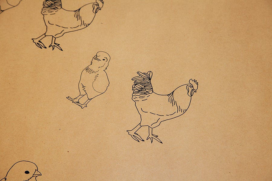 Image of Chickens Cornhole Set