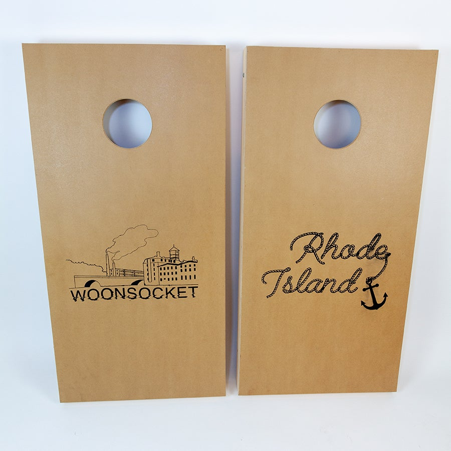 Image of RI/Woonsocket Cornhole Set - Price reduced to $150