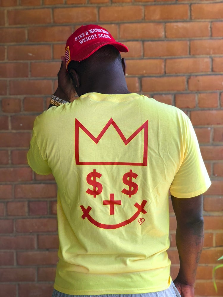 "Image of CANARY YELLOW GIGPS ""ALL MIGHTY"" T-Shirt"