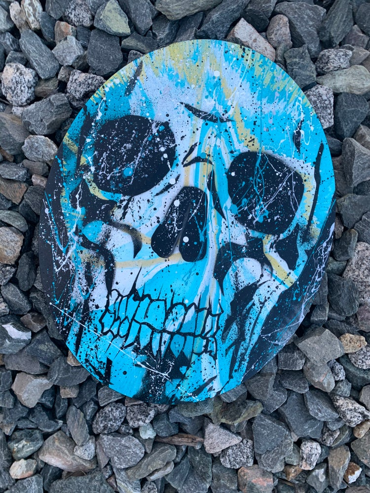 "Image of NEHS SKULL:  "" Sky Bound "" by Official NEHS"