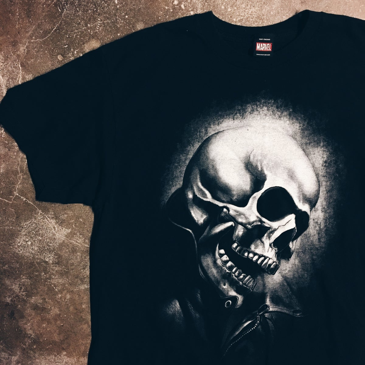 Image of Original 2000's Marvel Mad Engine Ghostrider Tee.