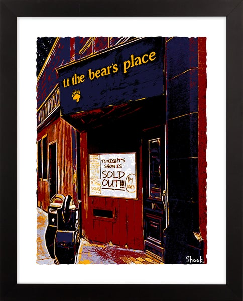 "Image of TT The Bear's Cambridge Giclée Art Print - 11"" x 14"""