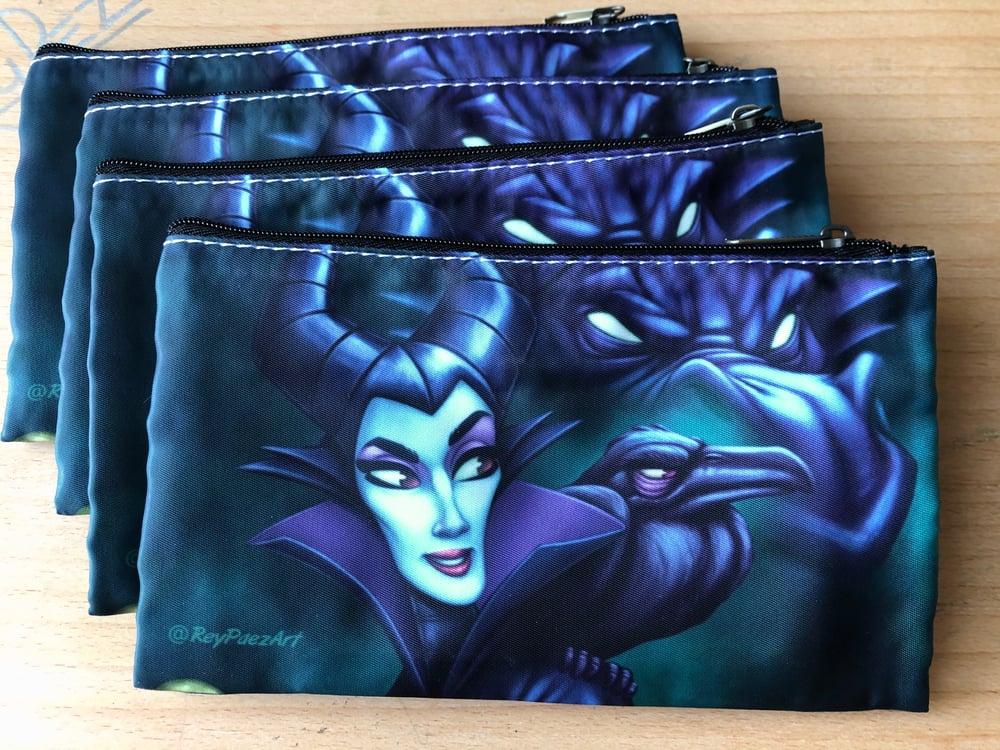 Mistress of all evil  (5x8 zipper pouch)