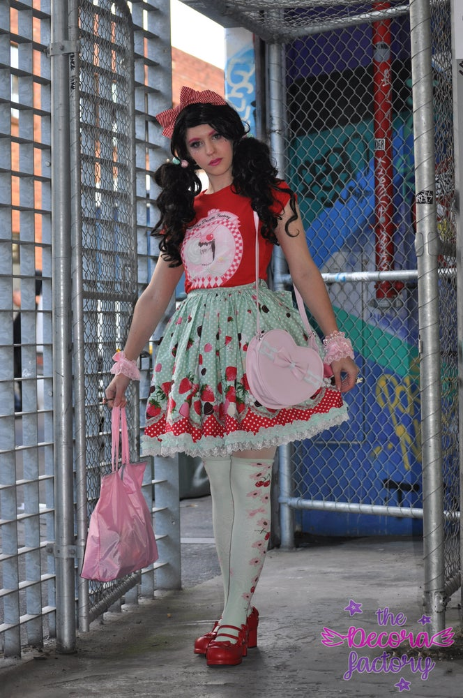 Image of The Decora Diner Cotton T Shirt