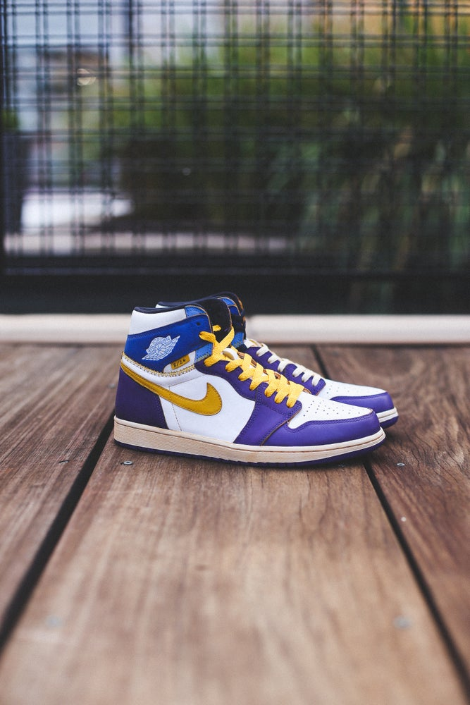 "Image of Jordan 1 Union ""8/24 mamba"""