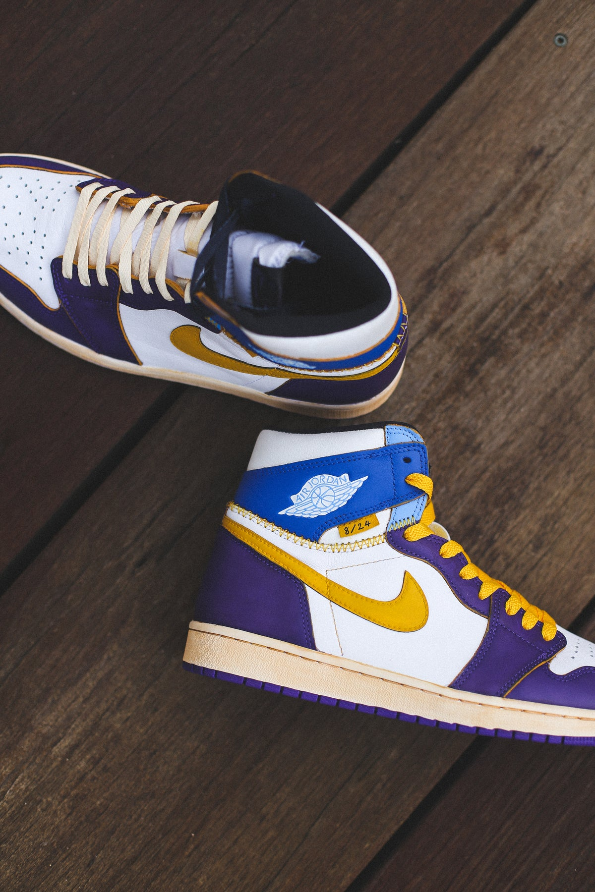 "Image of Jordan 1 Union ""8/24 Mamba Day"""
