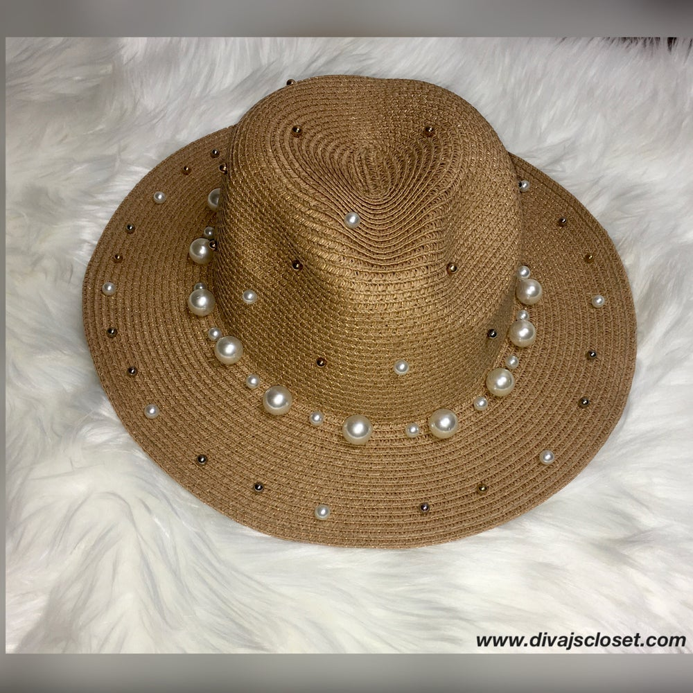 Image of Beaded Fedora Hat