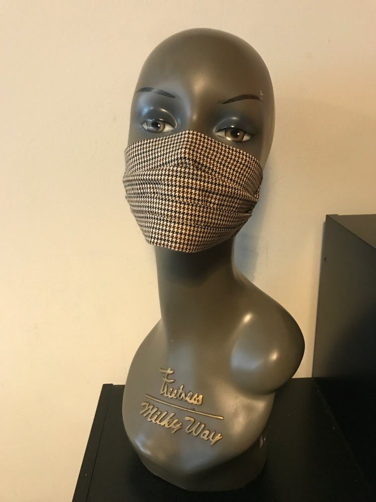 Image of Country tweed face mask