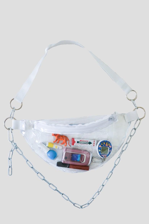 Image of No Shame transparent fanny pack