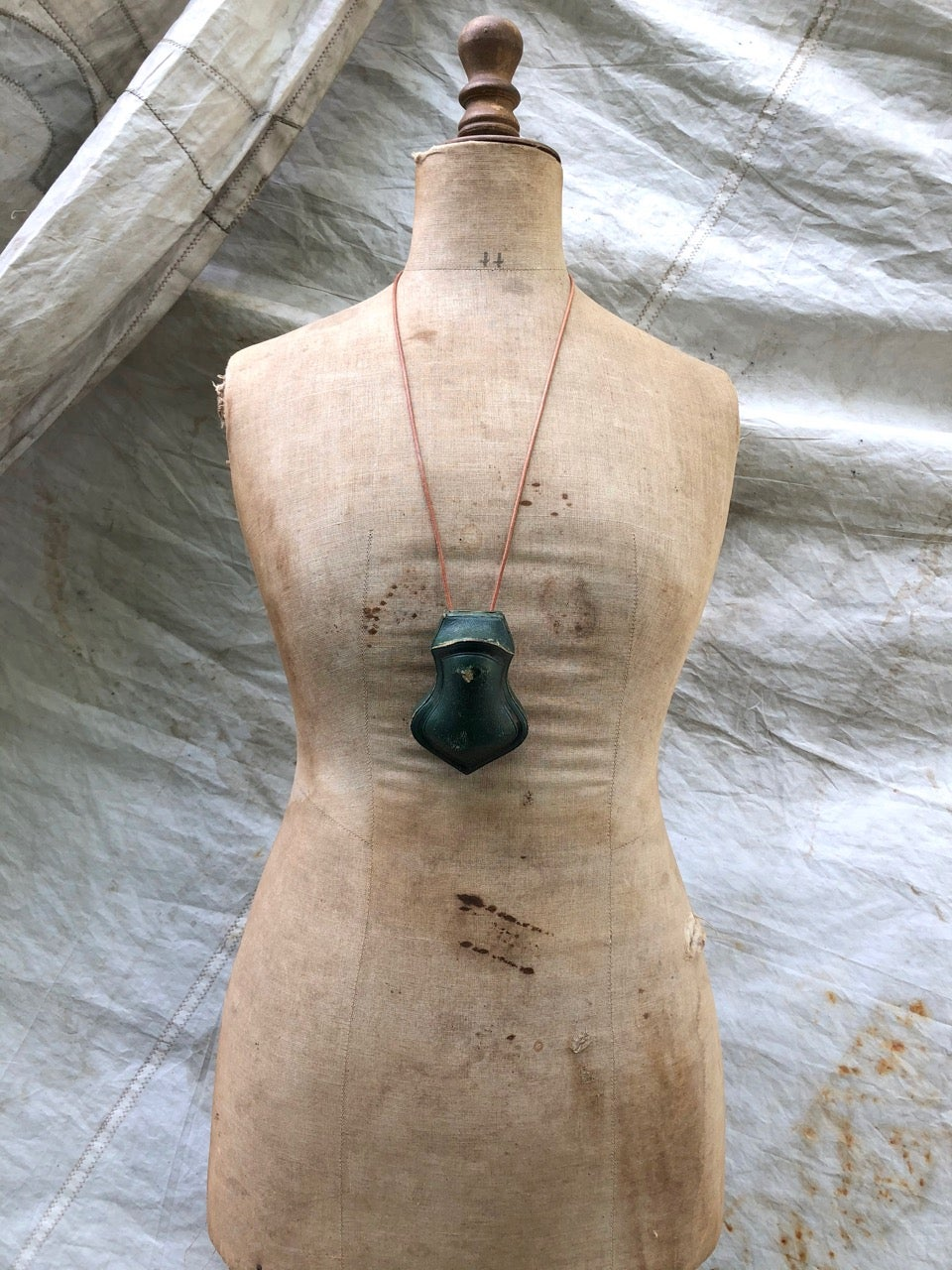 Image of Diorama Necklace - Calling in the Sheep