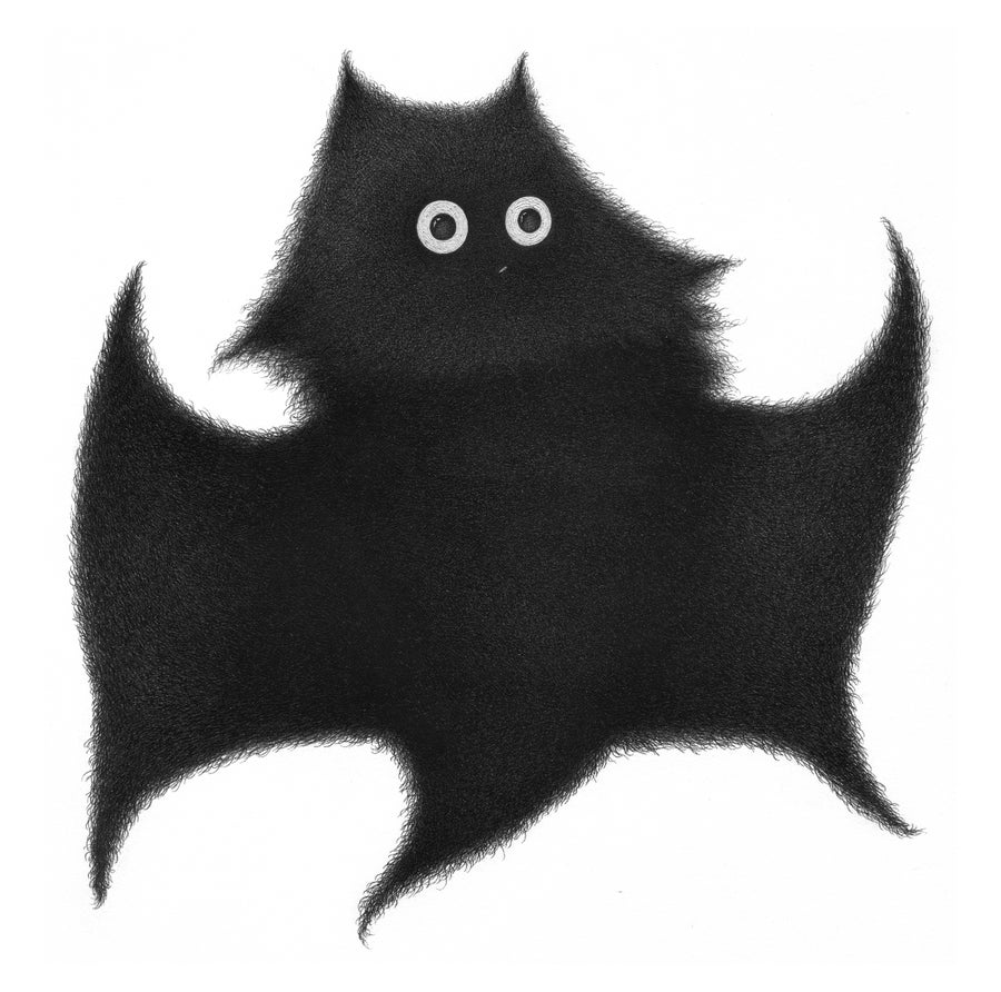 Image of Purrce Wayne (Batcat) original drawing