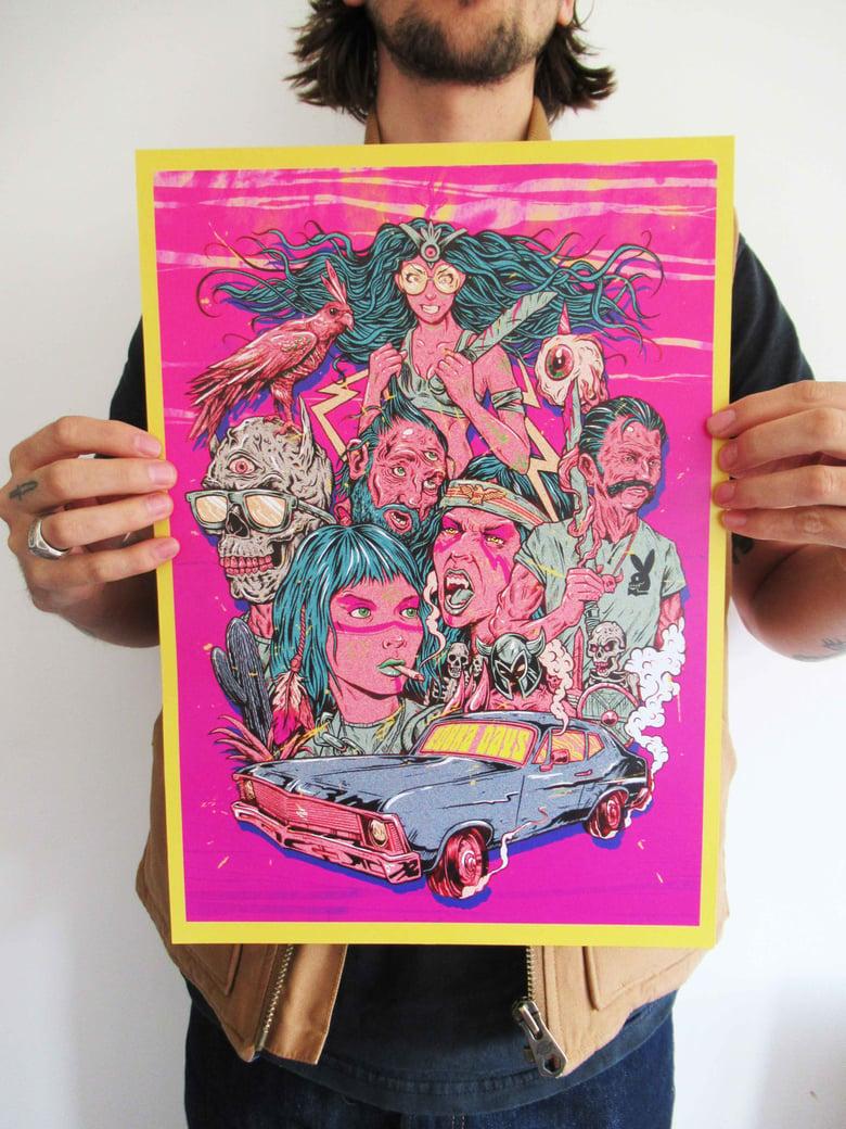 Image of Cobra Days Print