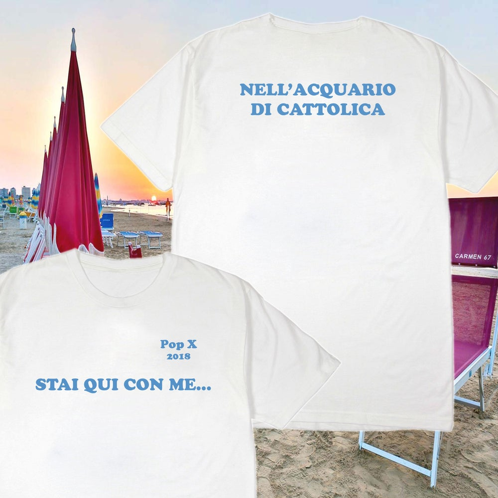 Image of POP X: Cattolica T-Shirt (bianca)
