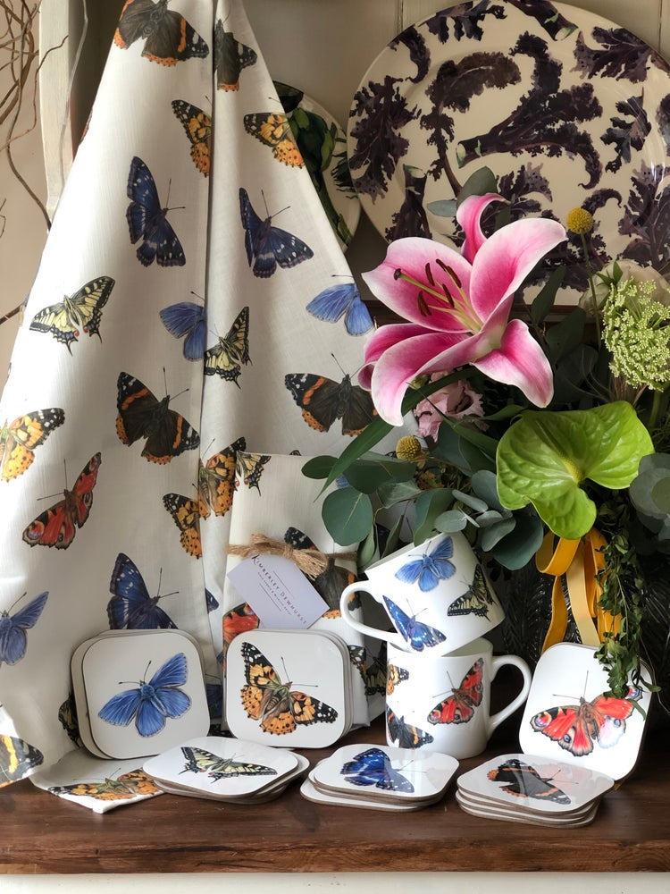 Image of 'Butterfly' Tea Towel