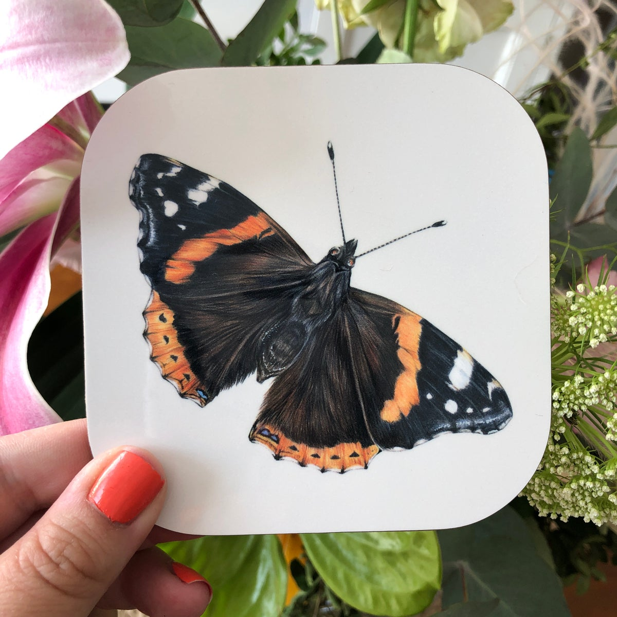 Image of 'Butterfly' Coasters (multiple designs available)