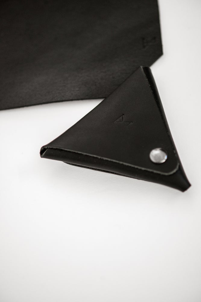 Image of DPY Leather wallet - Arizona Black