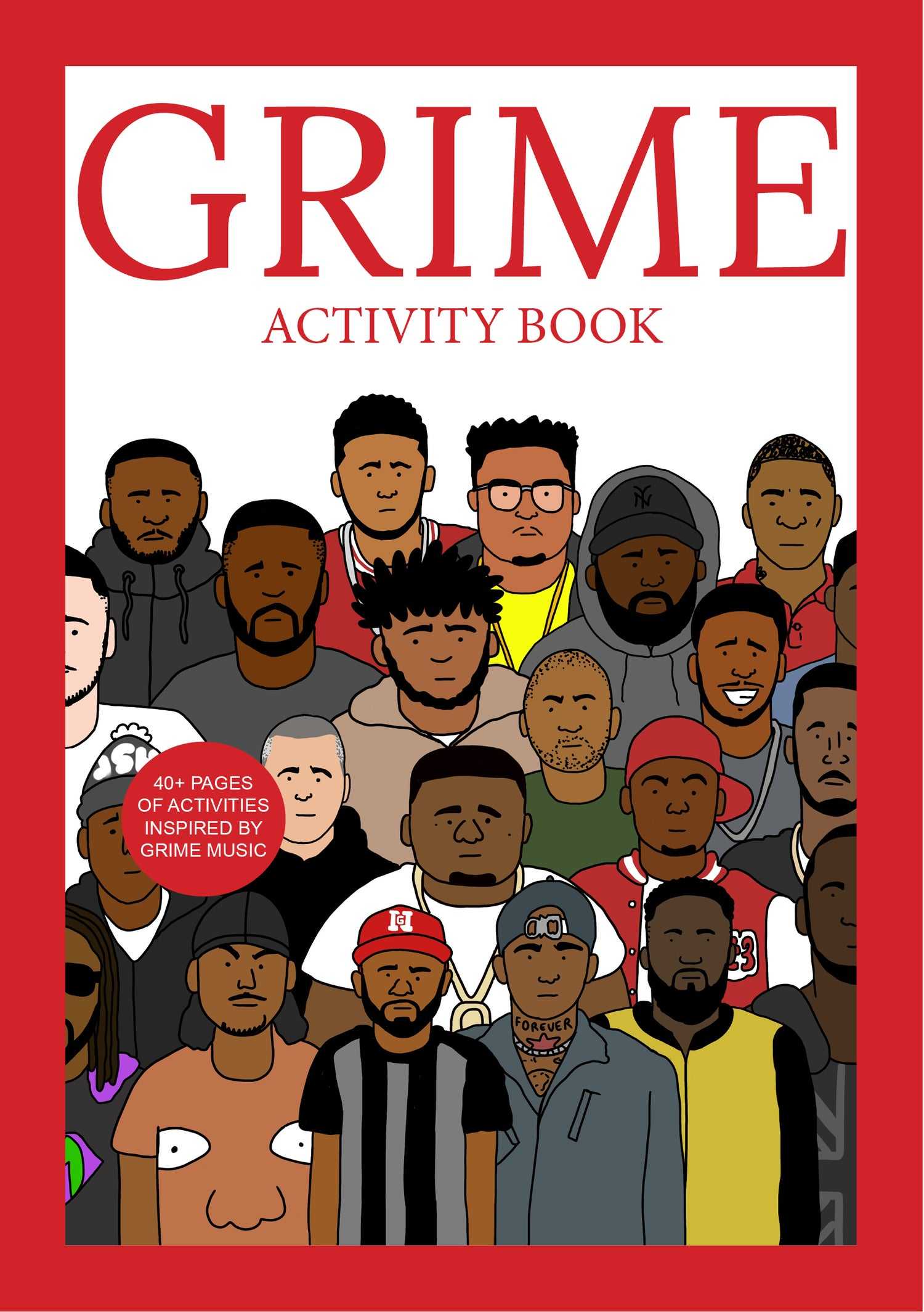 Image of The Grime Activity Book