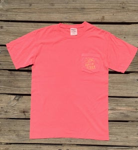 Image of NEW // Spoon Pocket Tee - Pink