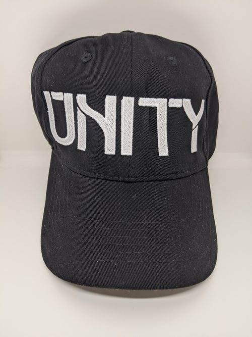 "Image of ""UNITY"" Dad Hat (yellow, red, black)"