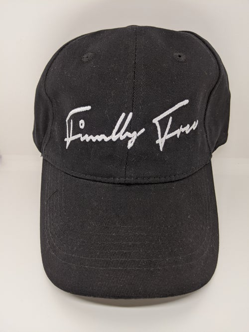 "Image of ""Finally Free"" Dad Hats (Available in Black & Purple)"