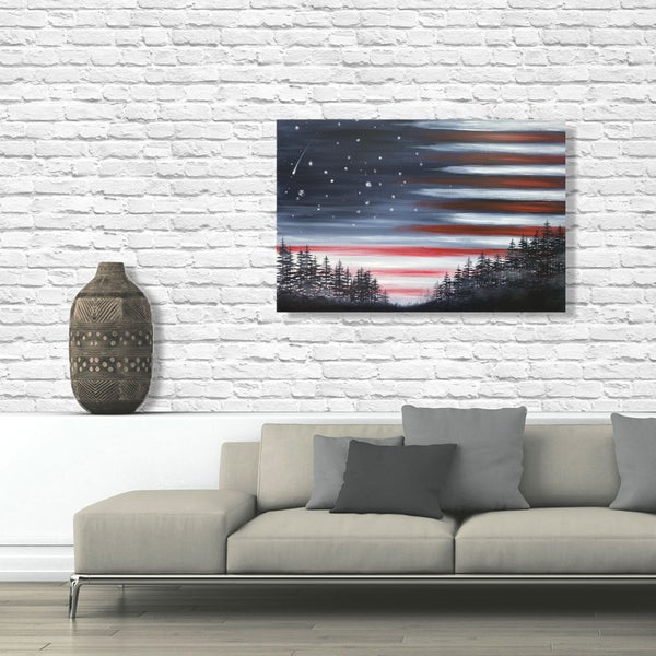 Image of STAR SPANGLED SKY **SPECIAL EDITION XL CANVAS (48 x 32 inches)**