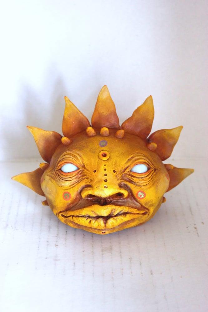 Image of Mayan Sun Head