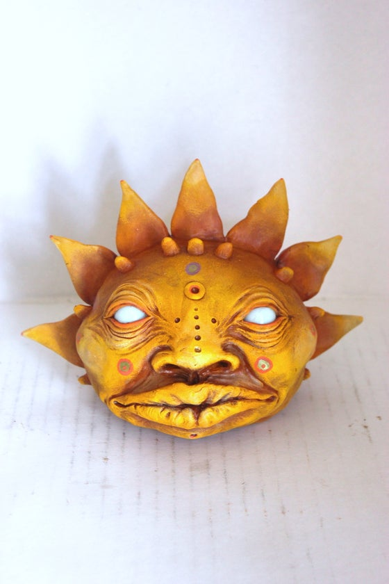 Image of Mayan Sun Head