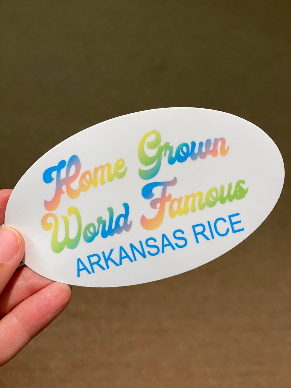 Home Grown World Famous Decal
