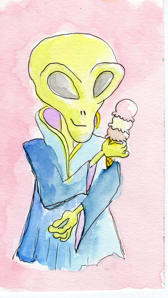 Image of Alien Ice Cream