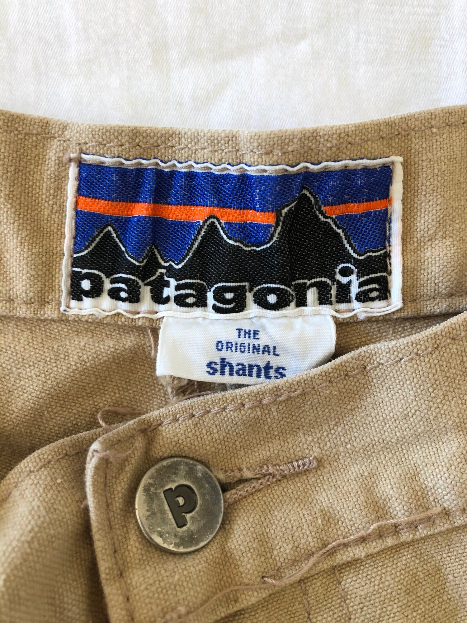 Image of 70s Patagonia 1st Label Shants Stand Up Shorts