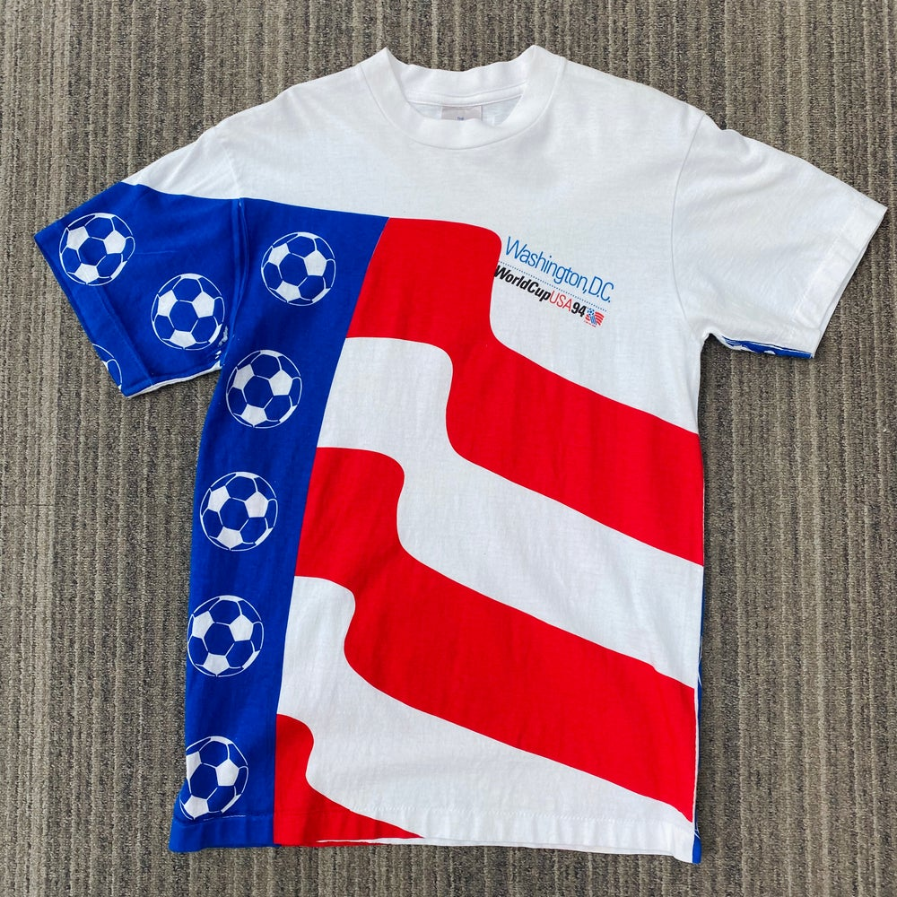 Image of Vintage 1994 World Cup Double Sided Tee