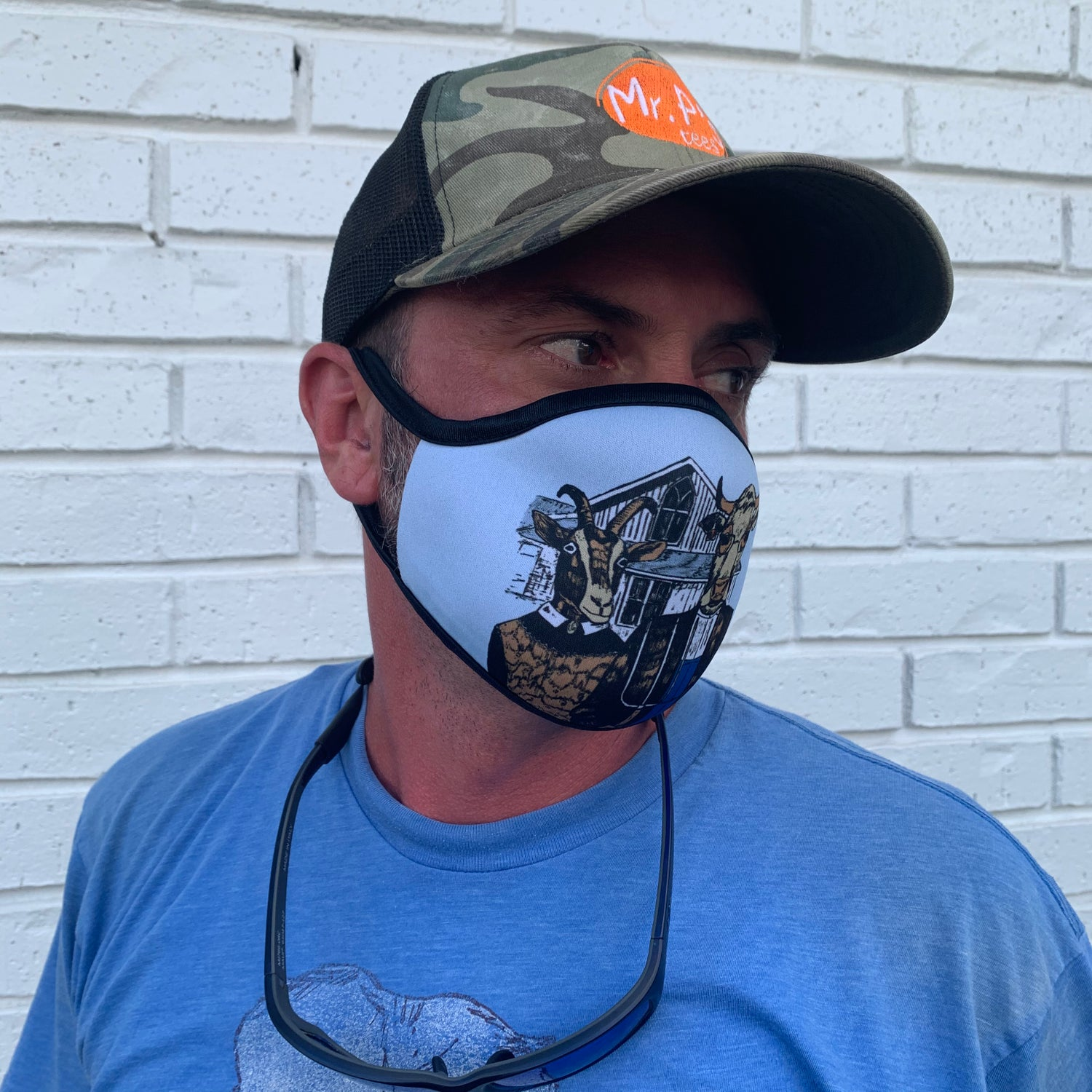 Image of Adult Farmer Gothic Mask